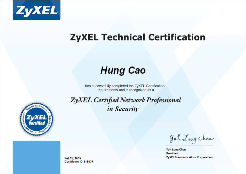 Zyxel Certified Network Professional Zcnp Philipngo