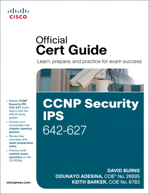 CCNP Security IPS 642-627 Official Cert Guide – @Philip Hung Cao