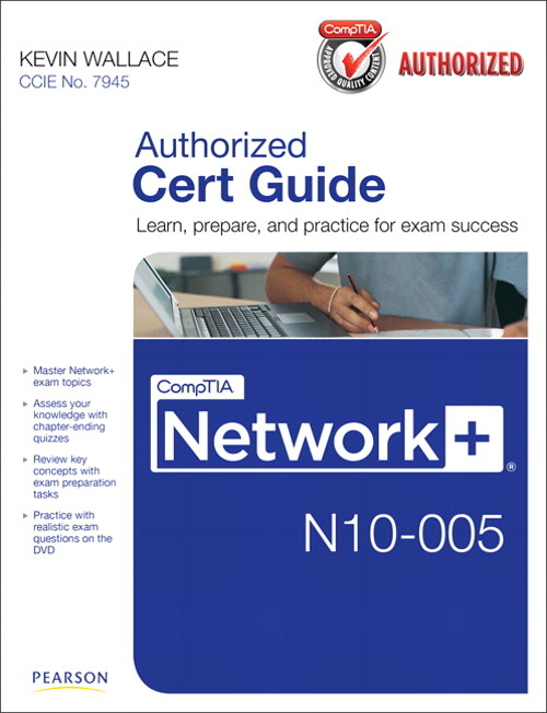 CompTIA Network+ N10-005 Authorized Cert Guide – @Philip Hung
