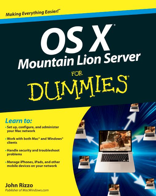 OS X Mountain Lion Server ForDummies