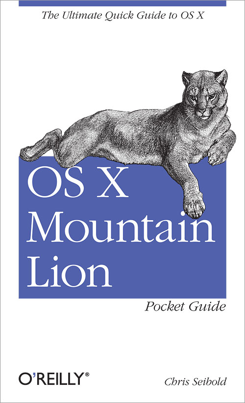 OS X Mountain Lion PocketGuide