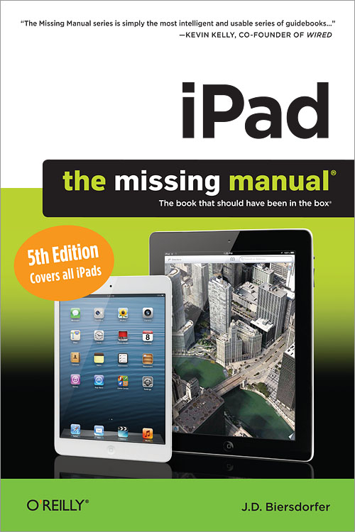 iPad: The Missing Manual, 5thEdition
