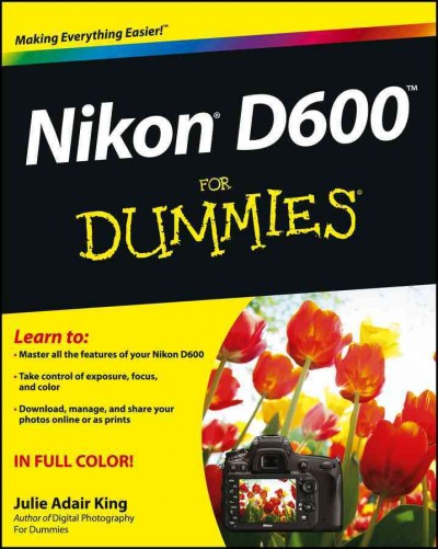 Nikon D600 ForDummies