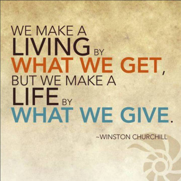 Giving Is the BestCommunication