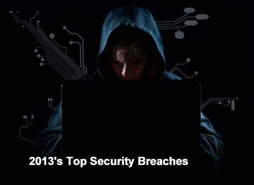The 10 Worst Data Breaches of2013
