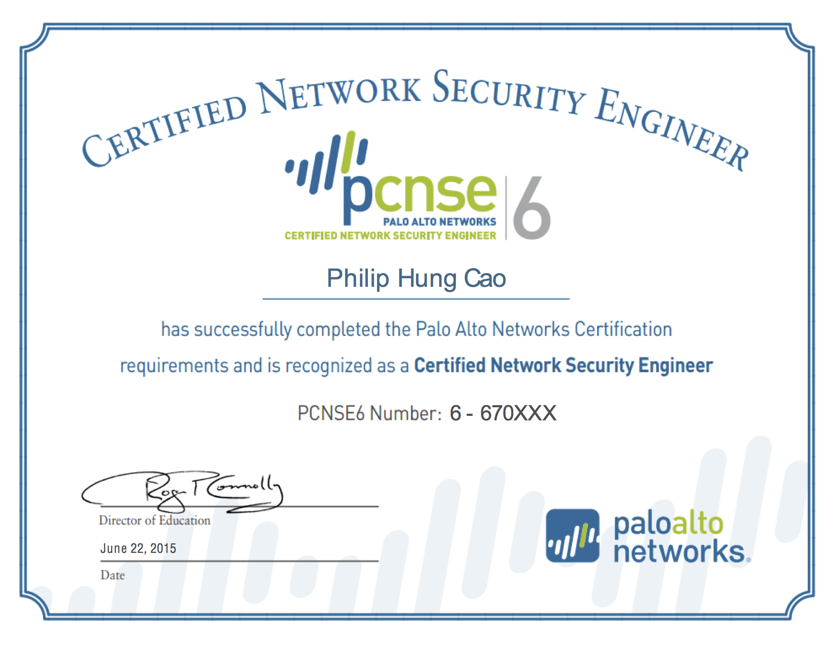 2015 philip hung cao palo alto networks certified network security engineer 6 pcnse6g xflitez Gallery