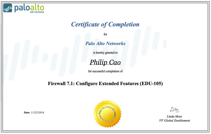 2016-philip-hung-cao-firewall-7-1-configure-extended-features-edu-105-certificate-of-completion