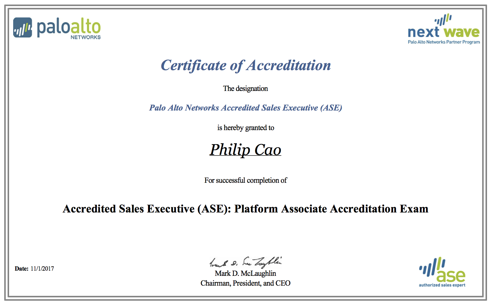 2017 philip hung cao accredited sales executive ase platform associate accreditationg 1betcityfo Image collections